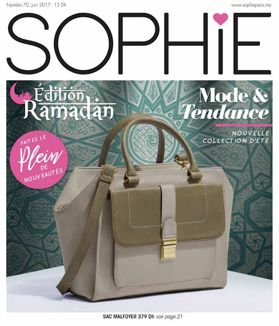 catalogue sophie paris juin 2017