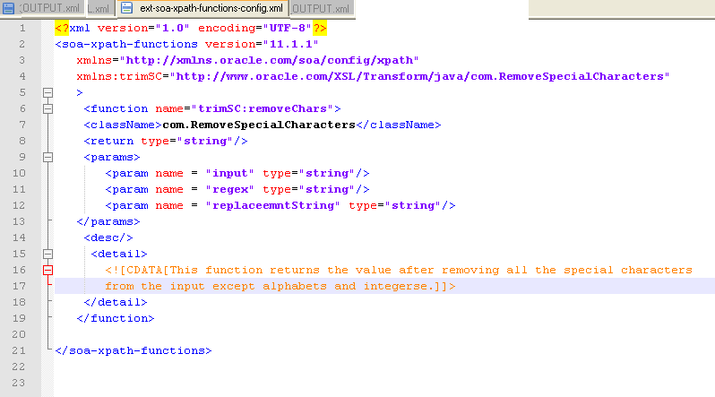 Oracle Fusion Middleware Blog: Developing and Deploying Custom XPath