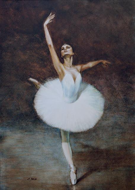 Yulia-Makhalina-bailarina-técnica-mista-by-Silvia-Reis
