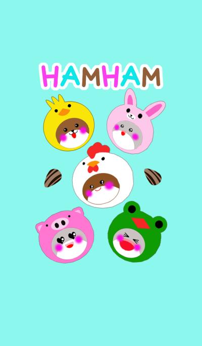 Headgear hamster