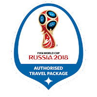 World Cup 2018 Russia Style Logo