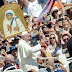 MOTHER THERESA CANONIZED A SAINT BY POPE FRANCIS.