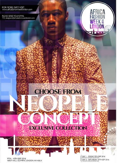 Neopele Concept to showcase at Africa Fashion Week London 2016