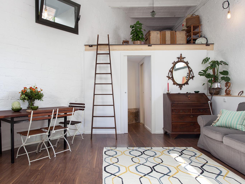 La buhardilla decoraci n dise o y muebles de antiguo garaje a precioso loft en barcelona - Muebles de garaje ...