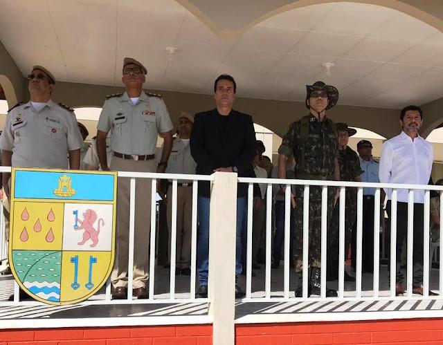 4º Batalhão de Engenharia de Construção realiza solenidade militar em comemoração ao Dia do Exército em Barreiras
