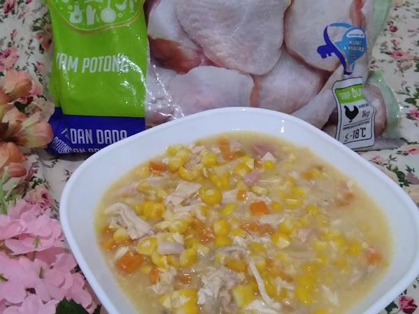 Resep Sup Krim Jagung, Menu Piring Gizi Seimbang dalam Satu Lauk