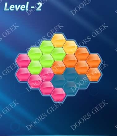 Block! Hexa Puzzle [Intermediate] Level 2 Solution, Cheats, Walkthrough for android, iphone, ipad, ipod