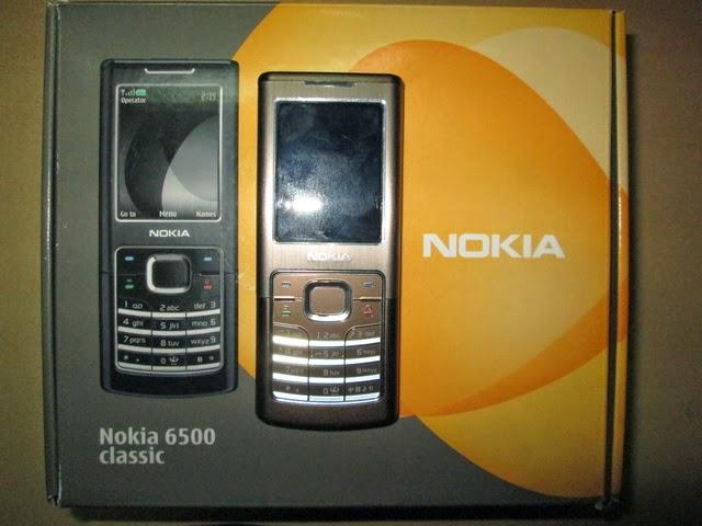 Nokia jadul 6500 classic