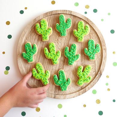 Cactus Sugar Cookies Easy Recipe