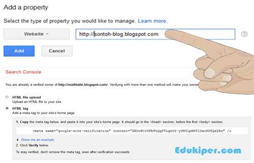 Cara mendaftarkan blog ke webmaster dan submit sitemap