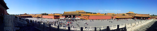Photo Forbidden City Panoramic