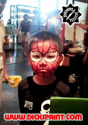 Face Painting Spiderman Kids Jakarta