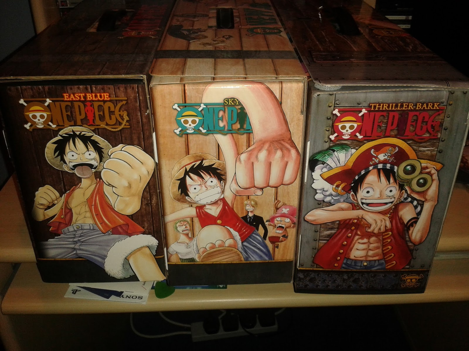 The Normanic Vault: Unboxing/Overview: One Piece Manga Box ...