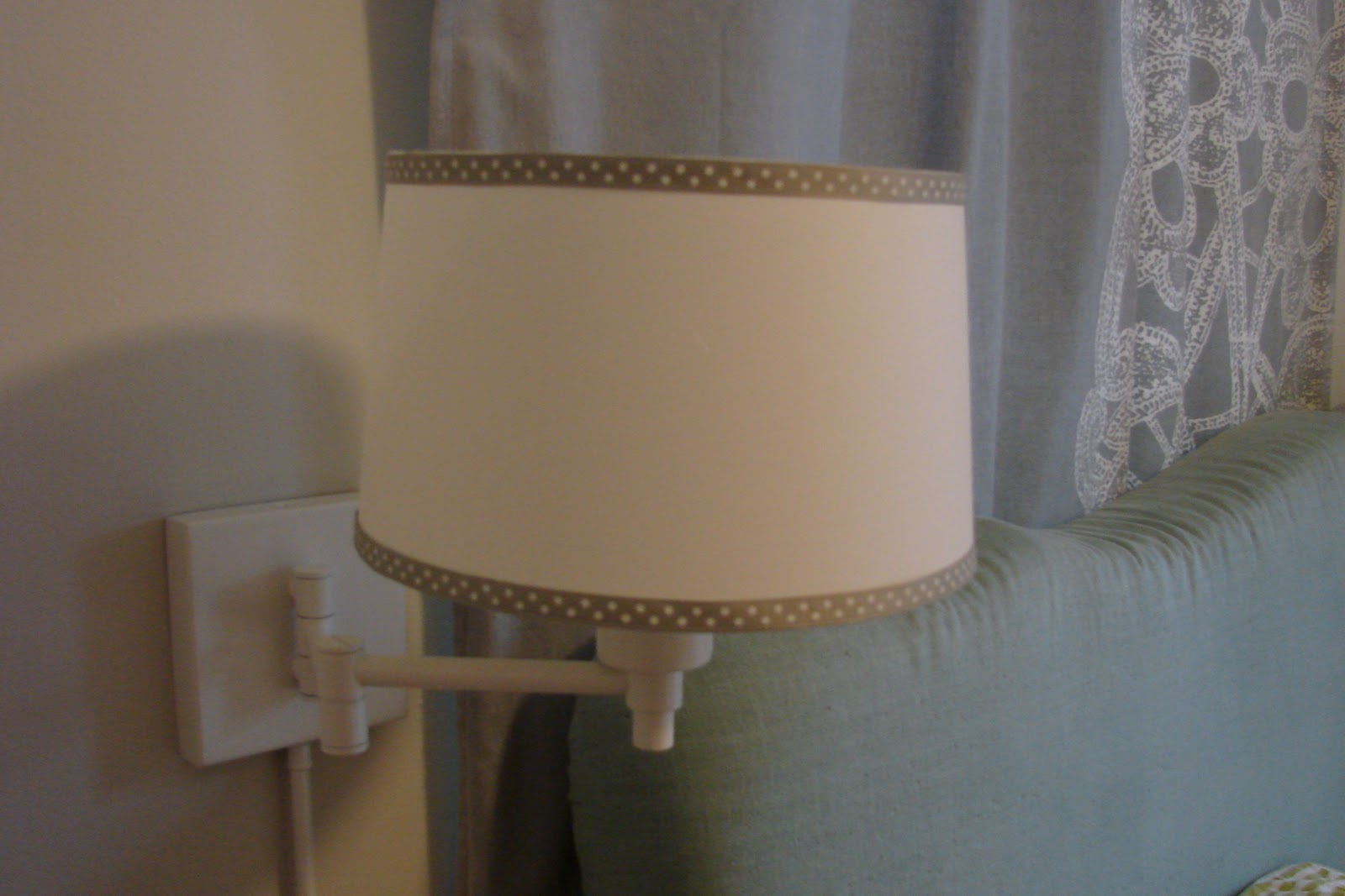 Just Nesting: Lamp Shade Project