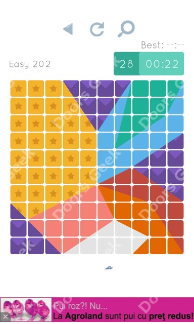Cheats, Walkthrough for Blocks and Shapes Level 202
