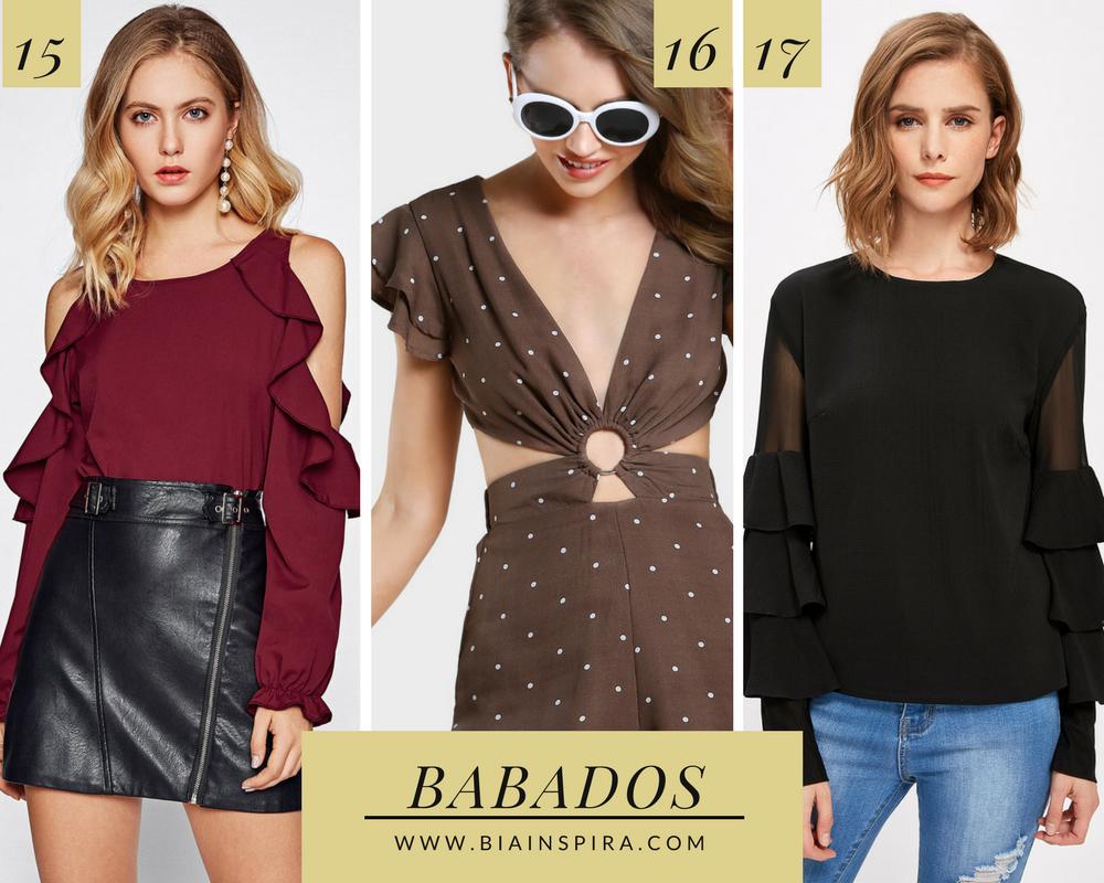 Babados - Tendências Primavera Verão 2018