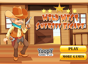 Wild West Sheriff Escape