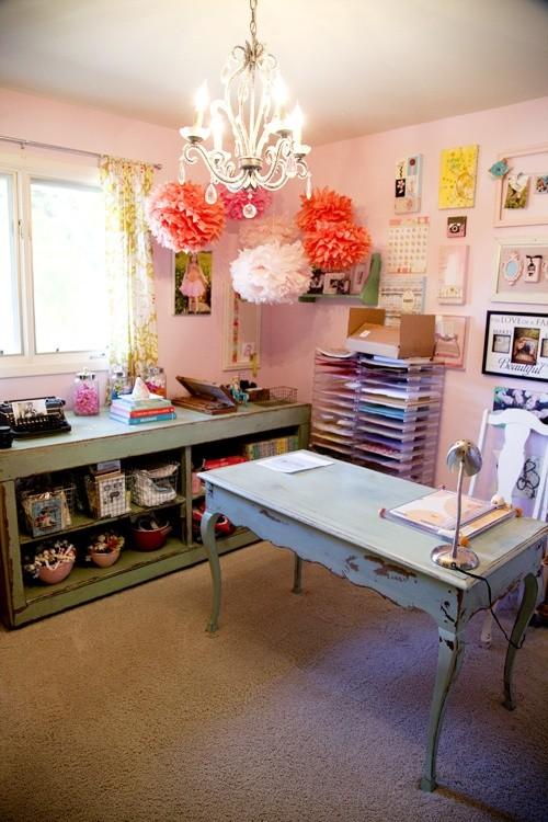 Escritório Feminino - Female Home Office