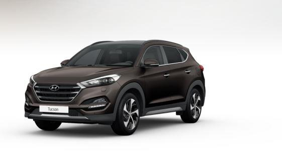 colori Nuova Hyundai Tucson 2016 Marrone/Brown - Moon Rock frontale davanti