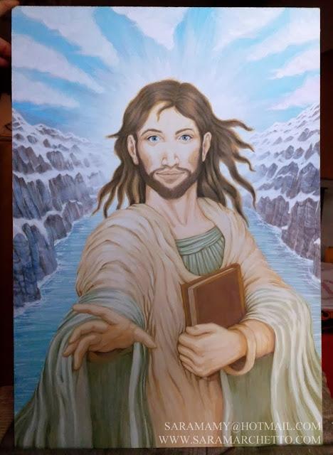 jesus Christ painting