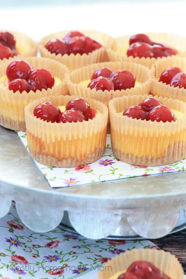 Mini Cheesecakes I Recipe — Dishmaps