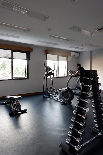 fasilitas gym di batiqa hotel cirebon