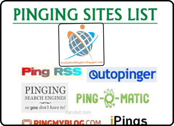 Top High PR Pinging Sites List
