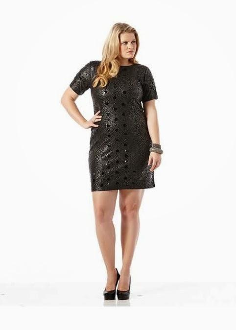 plus size collection, fashion, lbd, dillards, cid style file, plus size dresses,