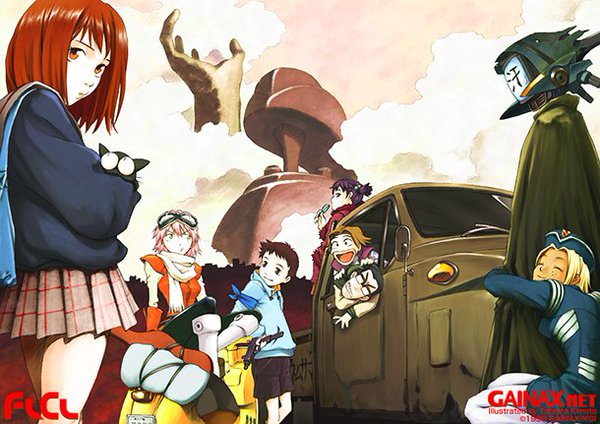 FLCL BD Batch Episode 1 – 6 Subtitle Indonesia