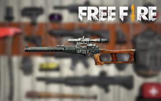 senjata terbaik free fire vss