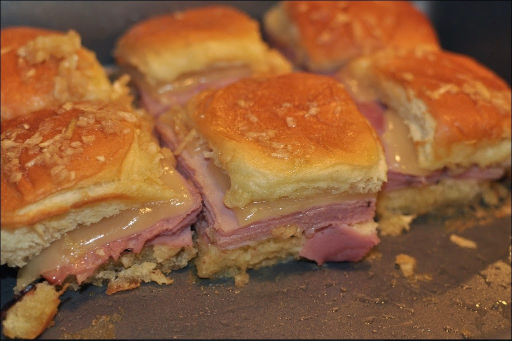 Best Recipes In World Mini Hot Ham And Cheese Sandwiches