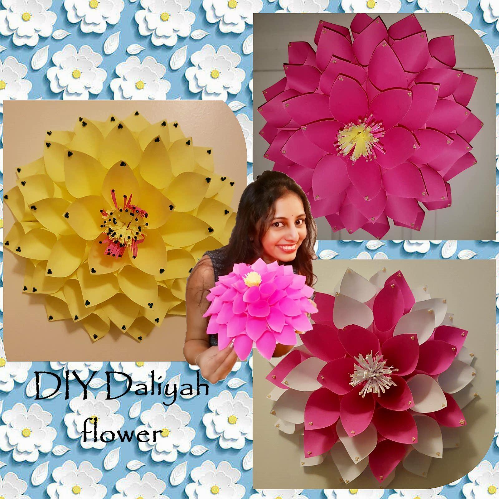 Make a Paper Dahlia Flower | DIY Network Blog: Made + Remade | DIY | 1600x1600
