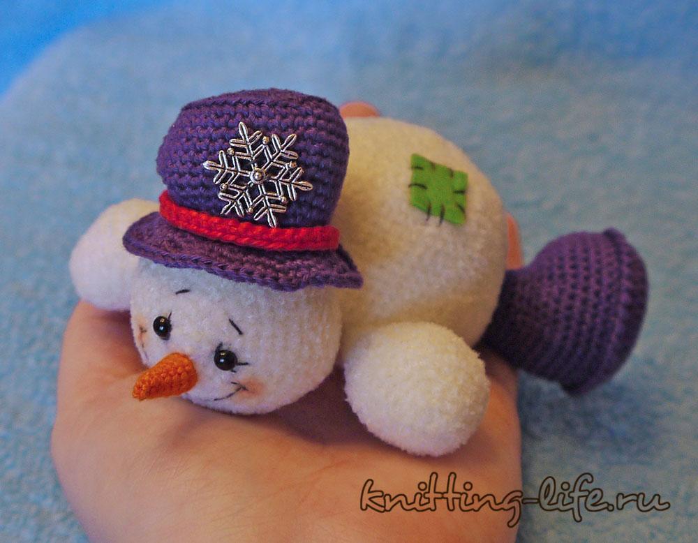 Free Amigurumi Snowman Patterns : Amigurumi Snowman-Free Pattern - Amigurumi Free Patterns