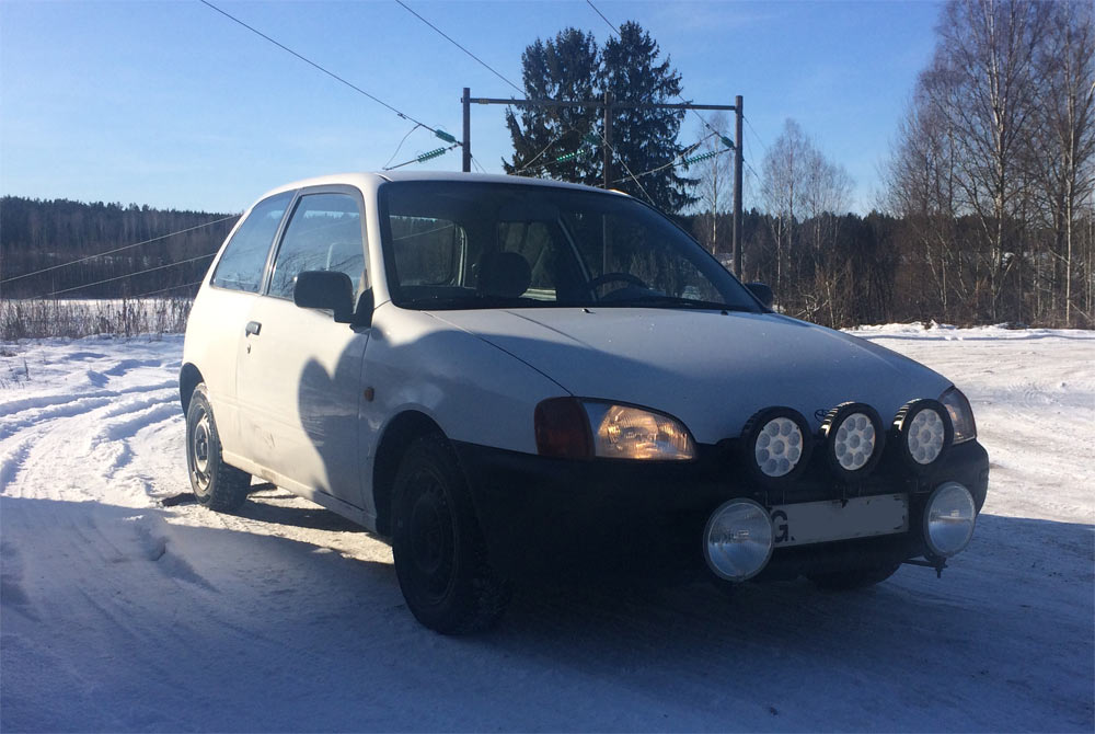 My Starlet EP91 (1997): Marcus Toyota Starlet