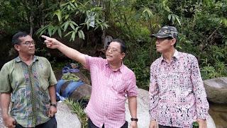 Bupati dan Wakil Bupati Sekadau Ikut Rekrasi Kebatu Jato