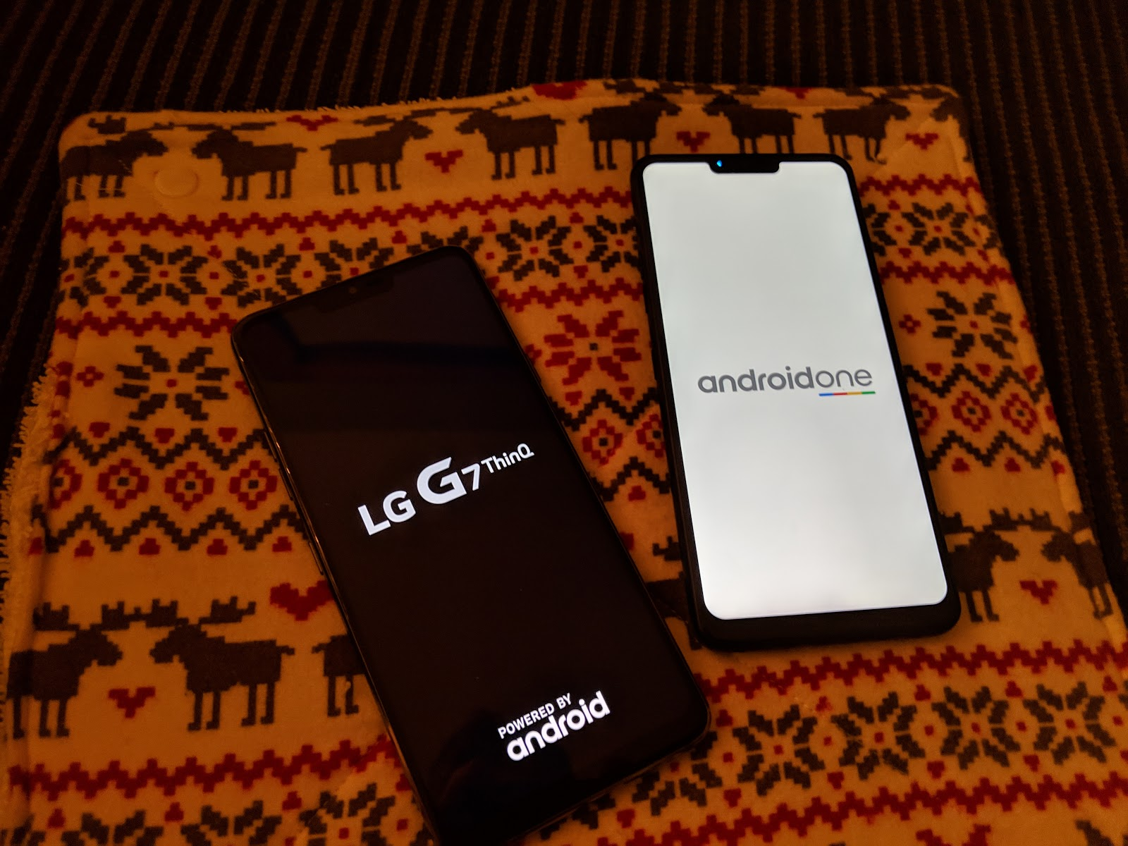 Comparing the LG G7 ThinQ to the One ~ Android Coliseum