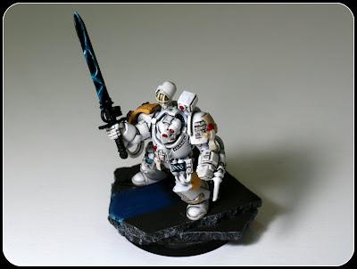 Lamenters Sanguinary Priest in Terminator Armor