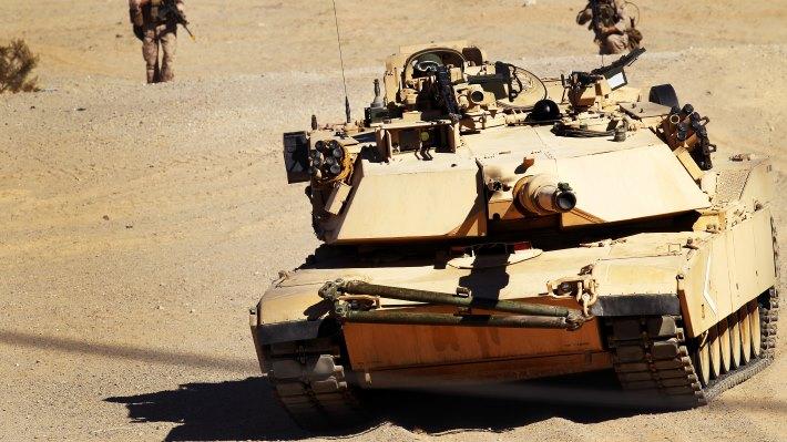 Wallpaper 2: American M1A1 Abrams Tank