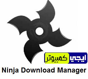 تحميل برنامج نينجا داونلود مانجر Ninja Download Manager