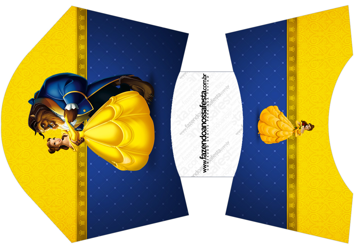 Beauty And The Beast Party Free Printable Boxes