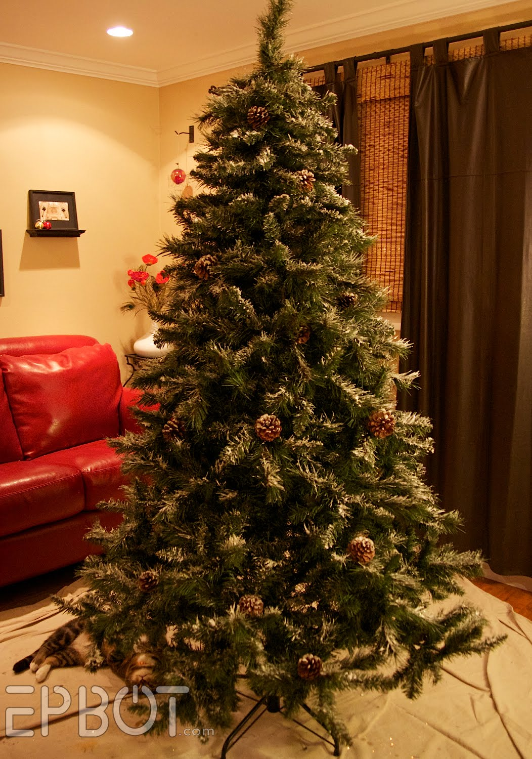 thursday december 1 2011 diy upgrade for your christmas tree