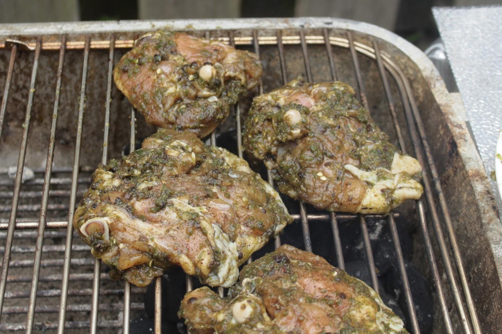 Authentic Jerk Chicken Thighs