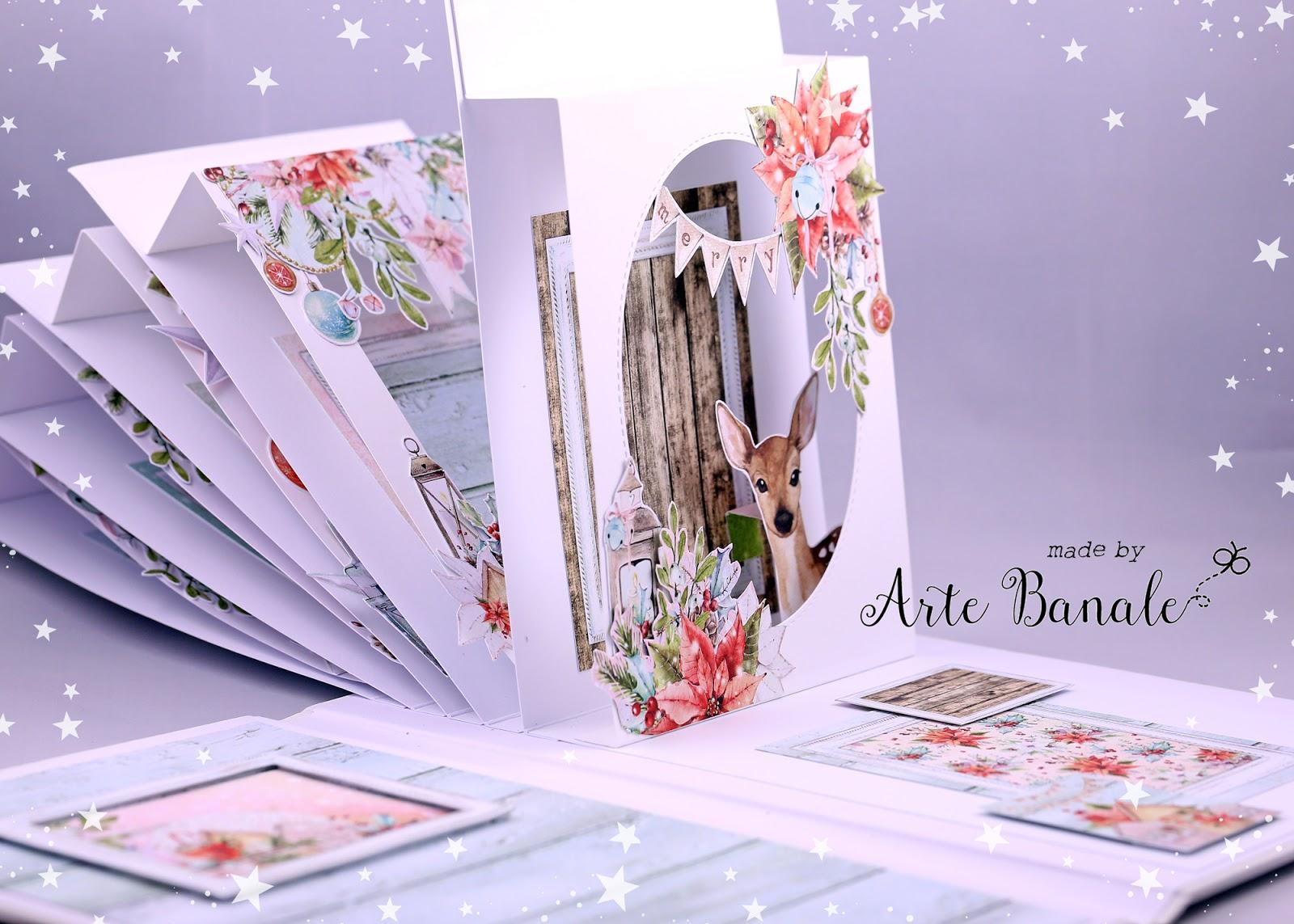 Скрапбукинг поп ап открытки