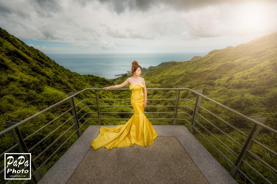 PAPA-PHOTO,自助婚紗,東北角海岸婚紗,夢幻婚紗,婚紗包套