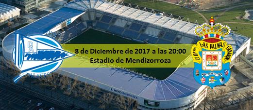 Previa Deportivo Alavés - UD Las Palmas 8 Diciembre 20:00