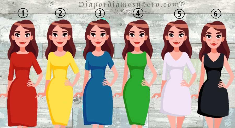 El test del vestido