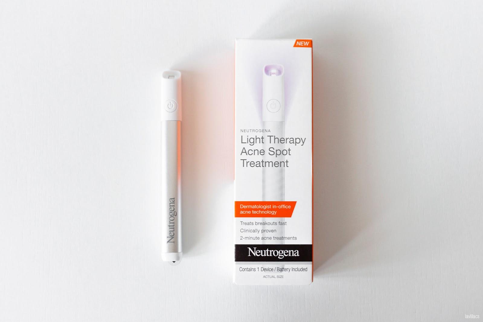 Neutrogena Light Therapy Acne Spot Treatment Lavenderlilac Dream