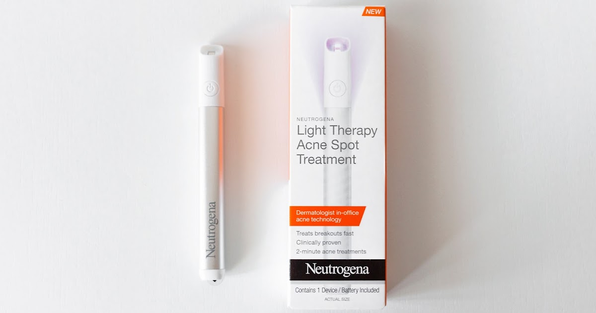 Neutrogena Light Therapy Acne Spot Treatment Lavenderlilac Dream