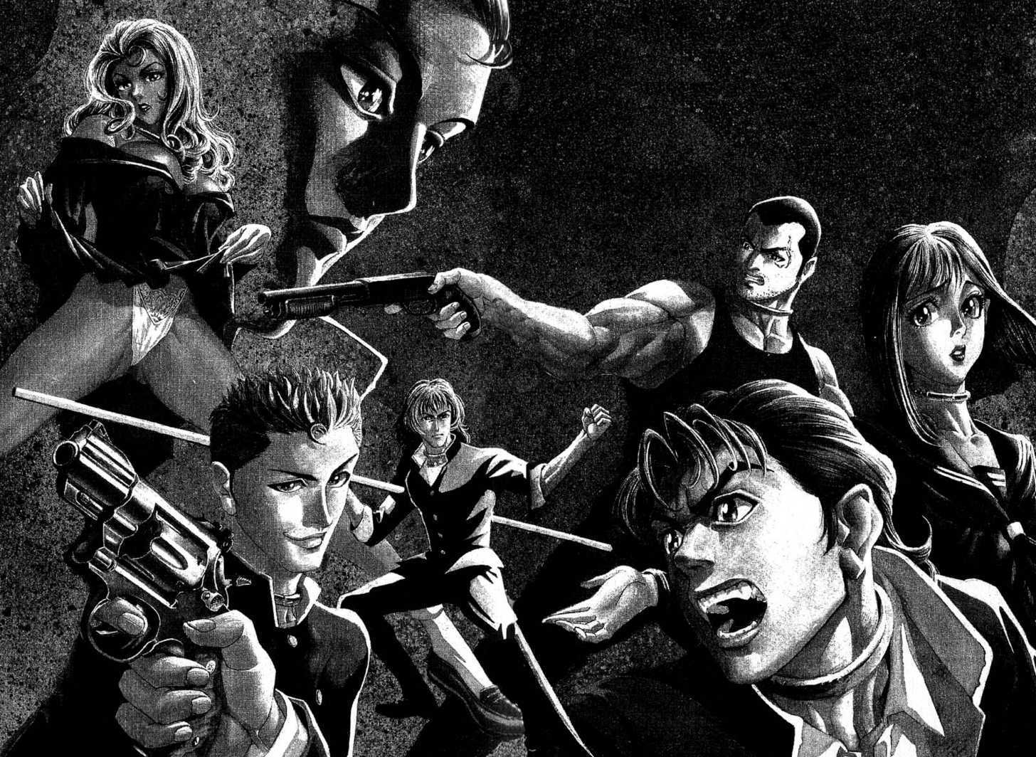 Battle Royale Manga Pdf