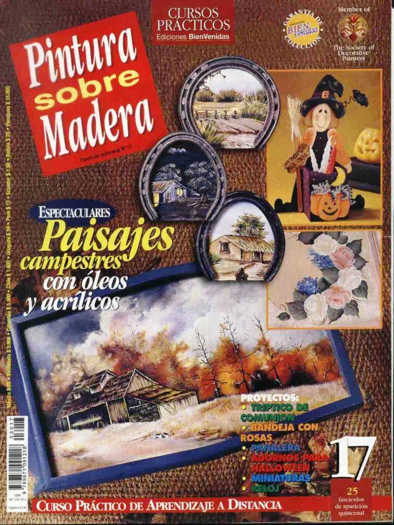Revista: Pintura sobre madera No. 17